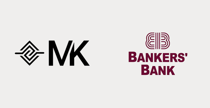 Bankers' Bank of Wisconsin and MK logos
